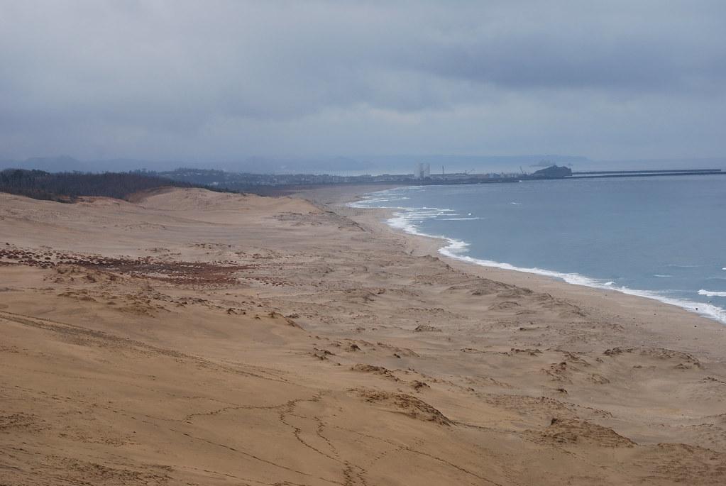 Tottori Sand Dune In Japan