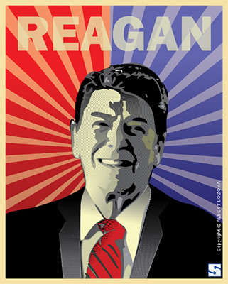 Remembering Ronald Reagan | by spacedustdesign