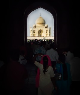 Approaching the Taj | by Stuck in Customs