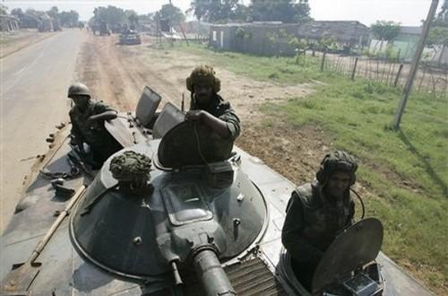 Sri Lanka Army BMP 1 Turret 76mm Gun & 7.62mm MG