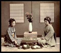 TWO GEISHA PLAY AN EXCITING GAME OF GO in OLD JAPAN -- ZZZZZzzzzzzz....! | by Okinawa Soba (Rob)