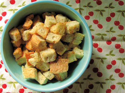Homemade Herb Croutons | by lisaclarke