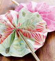 Paper fans (Courtesy Family Fun Magazine) | by Contra Costa Times