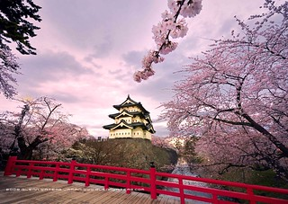 Hirosaki Castle. Wow! © Glenn Waters. Japan. (Explored) Over 22,000 visits to this image. Thank you. | by Glenn Waters ぐれんin Japan.