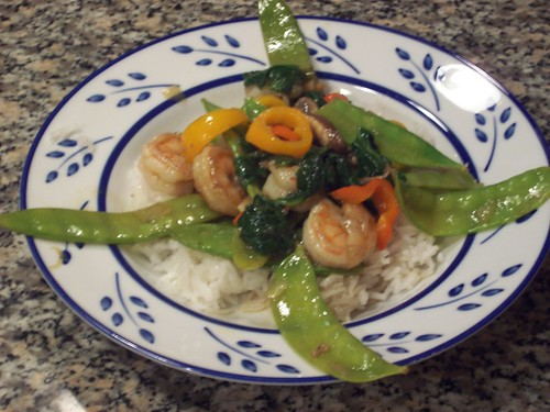 Shrimp Stir Fry with Snow Peas | by mia3mom