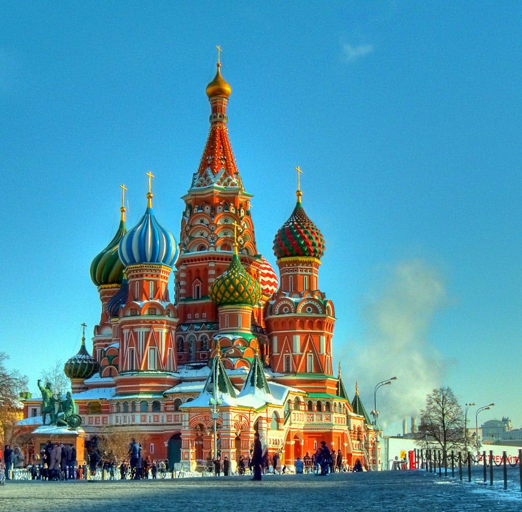 St. Basil's Cathedral / Храм Василия Блаженного