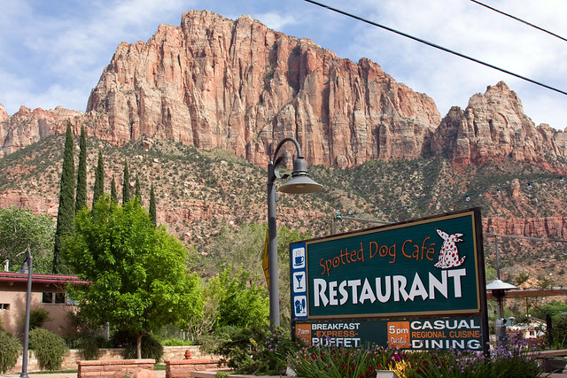 Dining In Springdale Gateway To Zion Zion Canyon