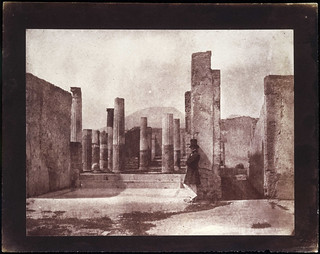 'House of Sallust, Vesuvius behind, Pompeii' | by National Media Museum