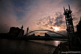 Salford Quays Bridge | by abourocky