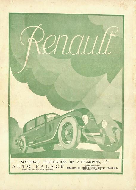 Ilustração, No. 6, March 16 1926 - back cover