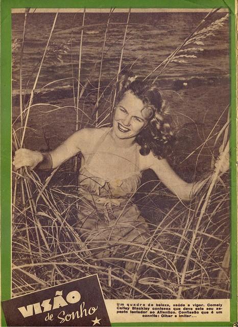 Século Ilustrado, No. 534, March 27 1948 - back cover