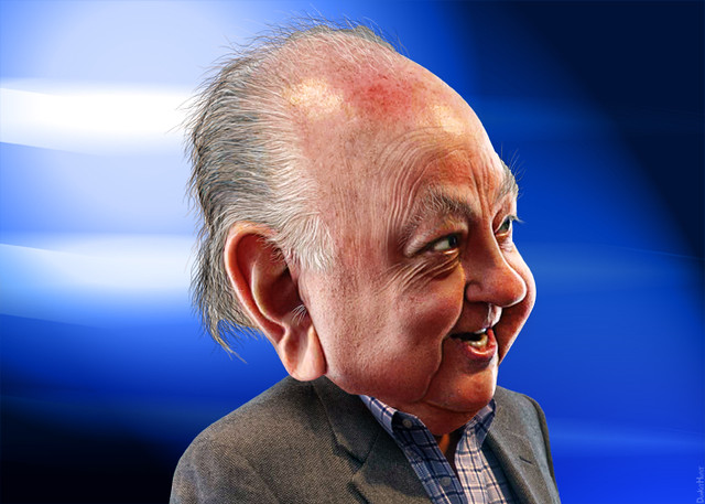 Roger Ailes: Caricature
