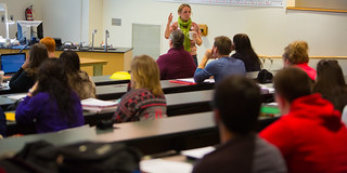 Leda Casey teaches geology. | by IU Kokomo