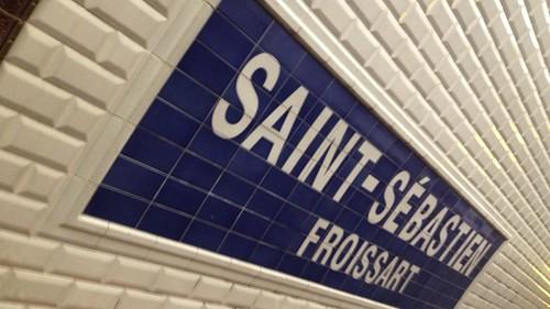saint sebastien froissart m tro station paris saint s b flickr. Black Bedroom Furniture Sets. Home Design Ideas