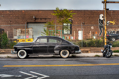 '51 Fleetline in Greenpoint, Brooklyn