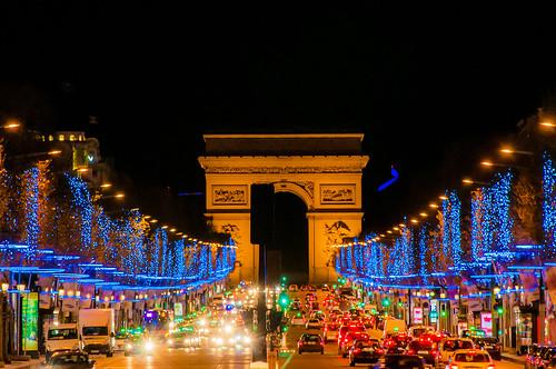 Champs Elysee Decoration Noel