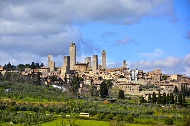 San Gimignano!