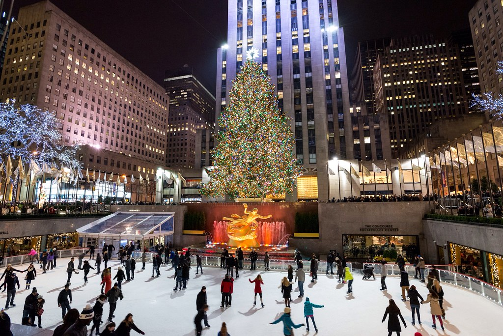 New York Christmas Photo