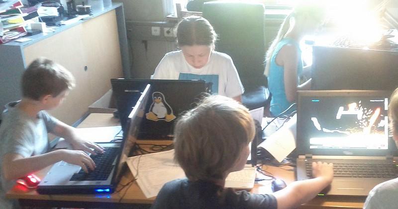 spielend-programmieren Sommerkurs Juli 2015