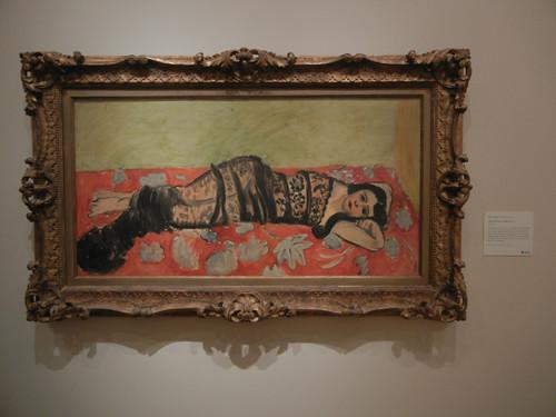 DSCN7830 _ The Black Shawl (Lorette VII), 1918, Henri Matisse (1869-1954), Norton Simon Museum, July 2013