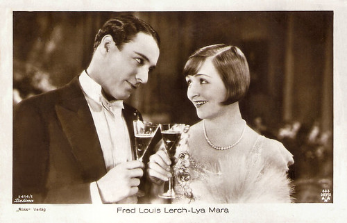 Fred Louis Lerch and Lya Mara in Heut tanzt Mariett (1928)