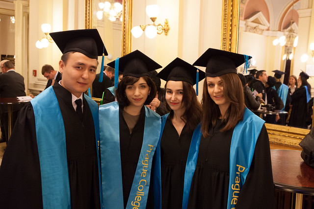 Prague College Graduation 2013