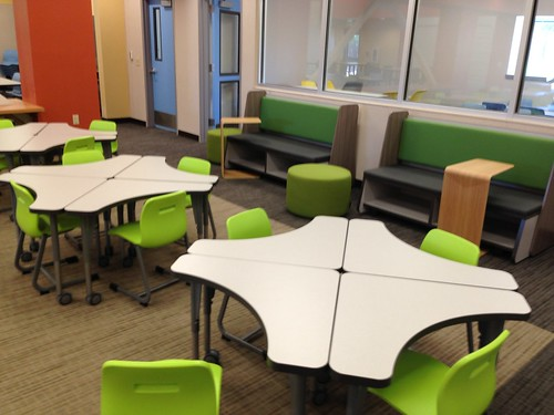 Innovative Classroom Seating Arrangements ~ Musd installation spangler learning center vanerum