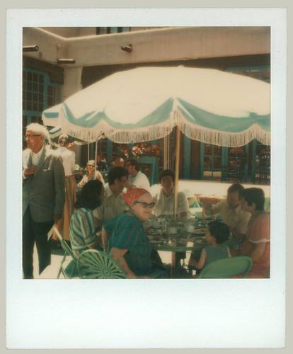 Old color Polaroid
