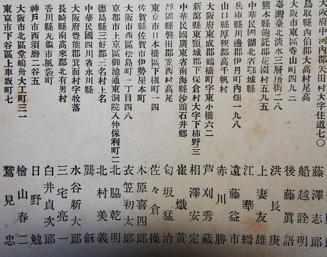 大阪醫科大學大正九年畢業紀念冊 (44)