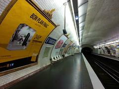 Paris Métro Saint-Fargeau 2