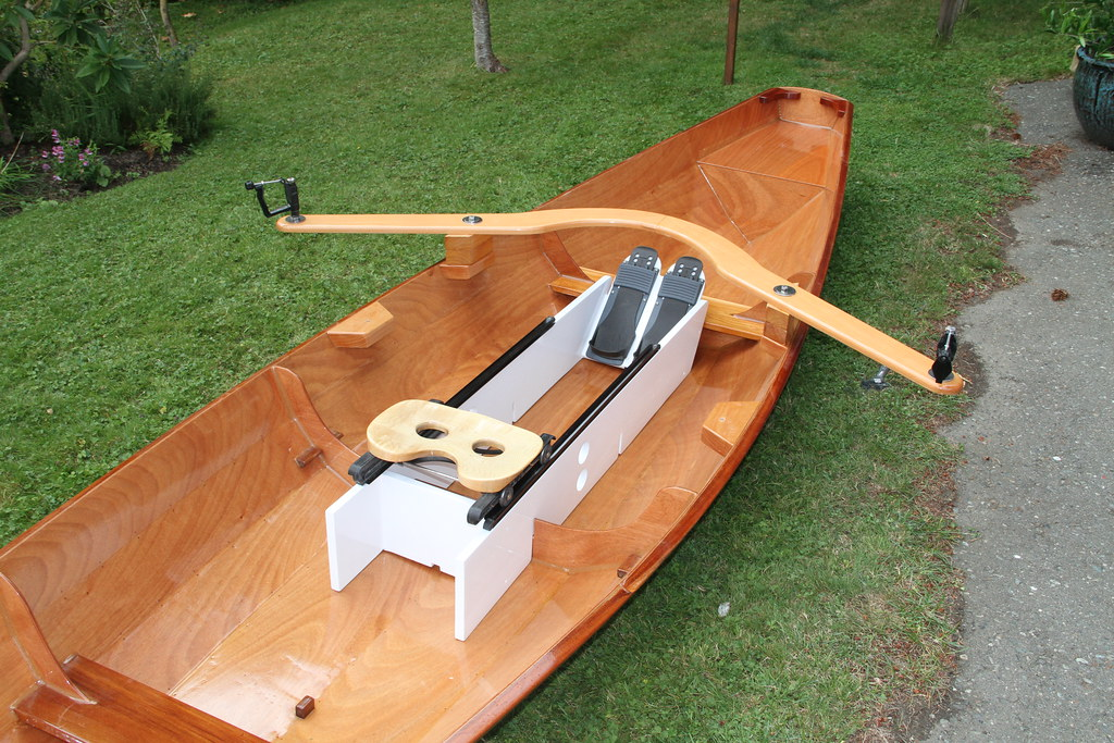 Rigging the Oxford Wherry for Rowing