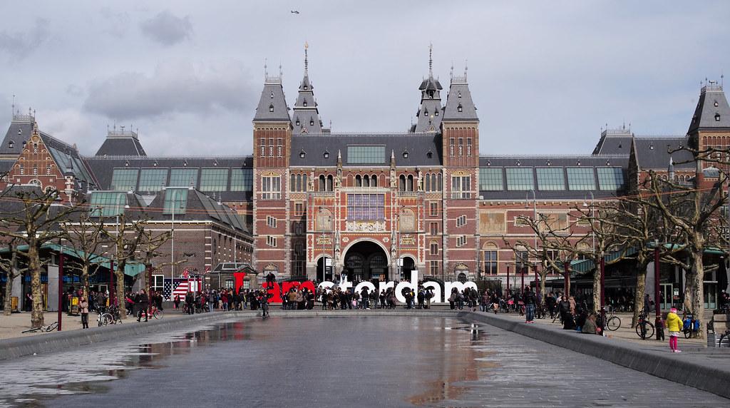 I amsterdam / Rijks Museum (Explored)