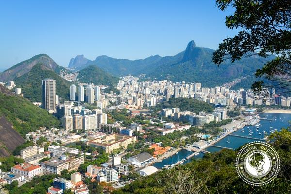 Botafogo Rio de Janeiro Morro da Urca View