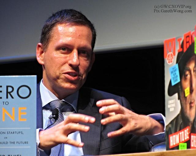 Peter Thiel on #ZeroToOne IMG_5636