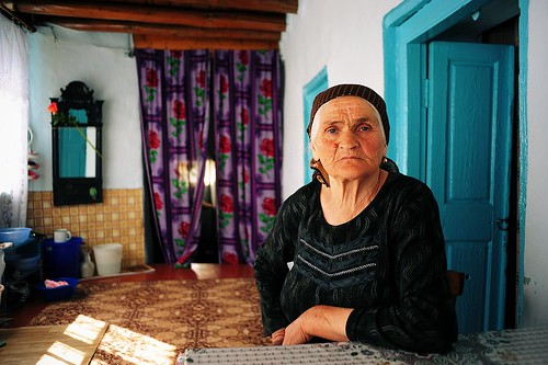 Saudat Akhmedova from Mukhar, Dagestan
