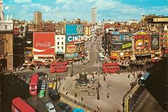 Площадь Пикадилли. Piccadilly Circus