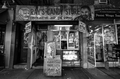 Ray's Candy Store - Truth, Justice and The Comics - East Village - New York City