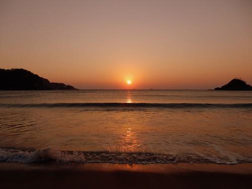 Yumigahama Beach Sunrise
