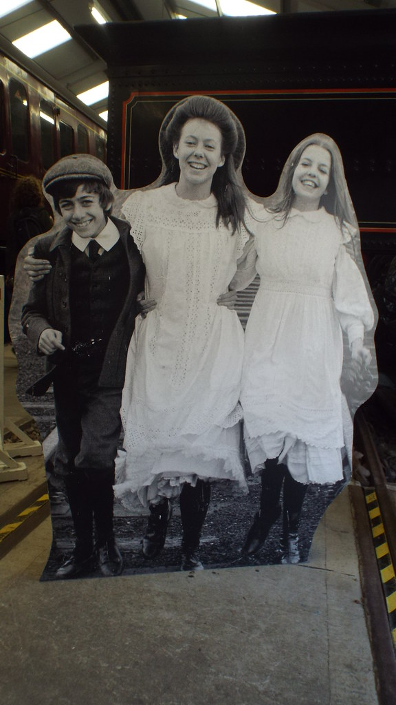Image of Gary Warren, Jenny Agutter and Sally Thomsett who played Peter, Roberta and Phyllis Waterbury in the 1970 film. Image by Steven Hughes via Flickr.