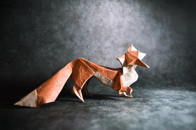 Origami Fox - Hoang Tien Quyet
