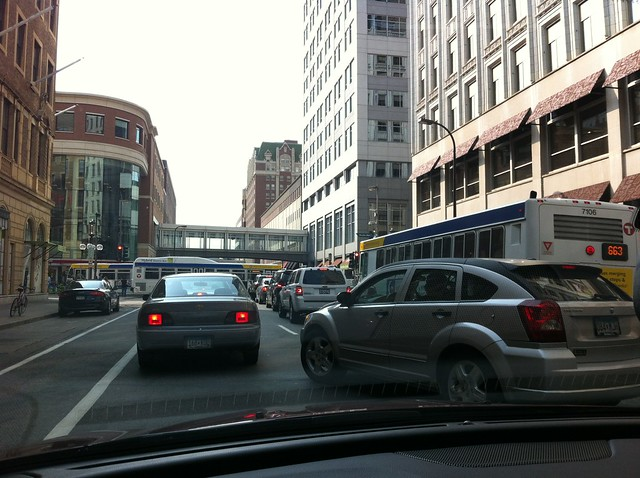 *bleeping* Downtown Minneapolis Traffic