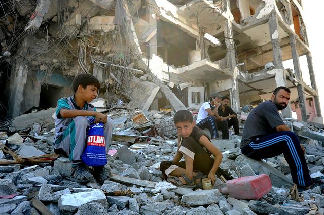 Scenes from Gaza Crisis 2014