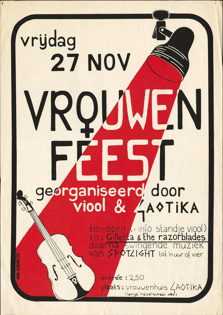 1981, Vrouwenfeest VIOOL & Gaotika
