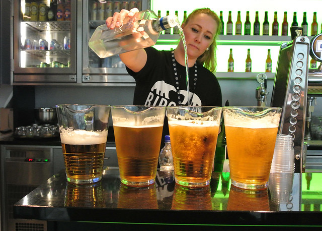 Eglis Brewery tasting