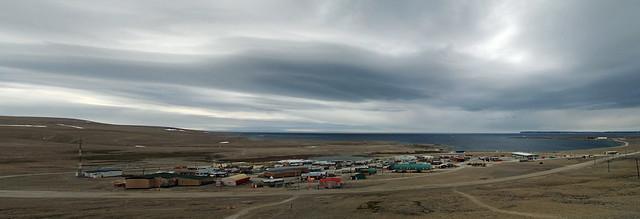 Brooding Sky Over Resolute hamelt, Nunavut