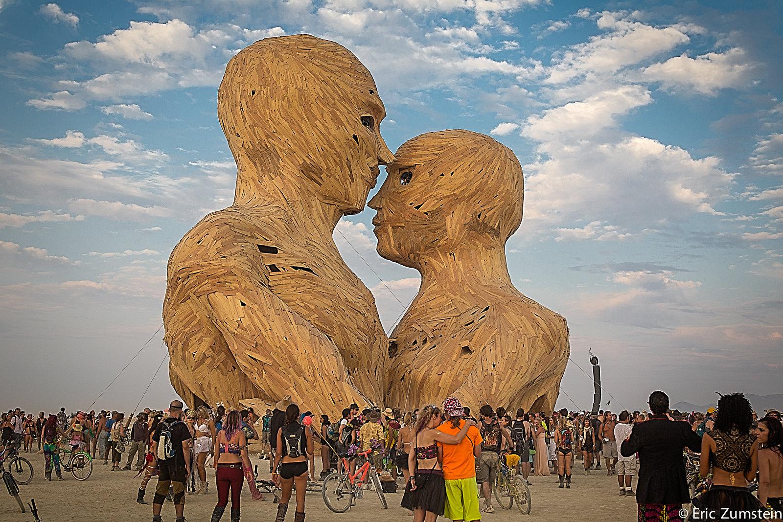 Embrace Art Project @Burning Man