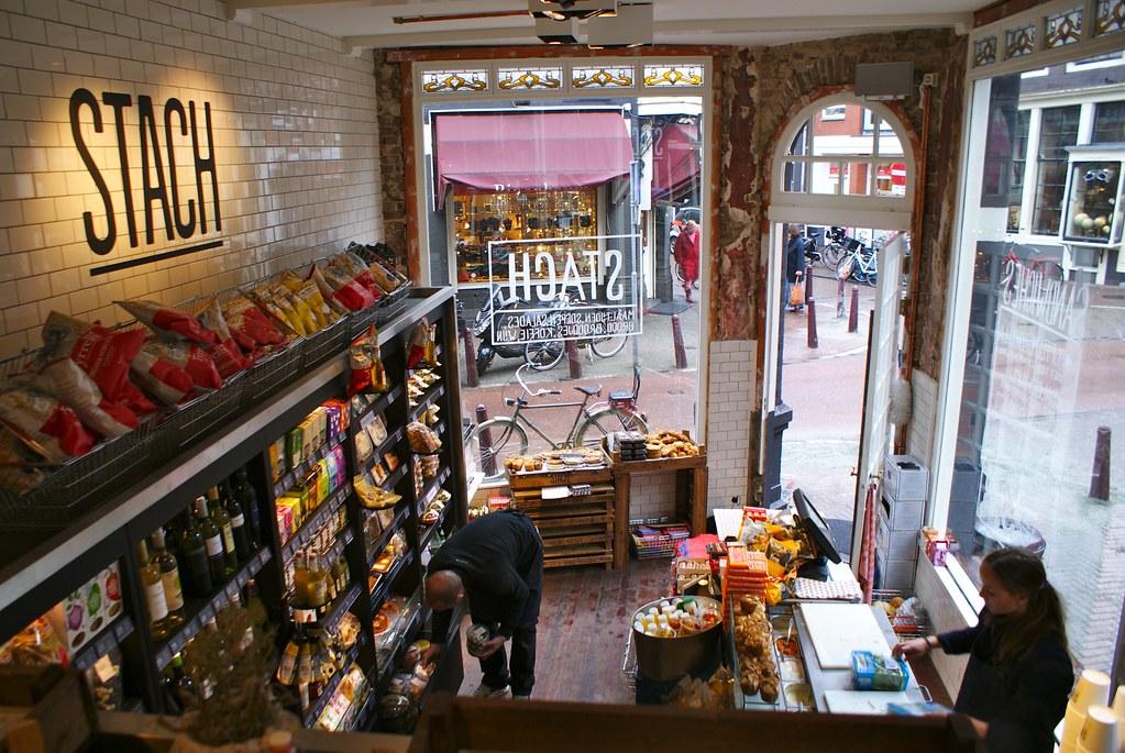 Snack Stach à Amsterdam, pour manger bien et rapidement