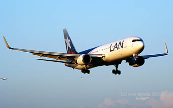 LAN B767-300ER en app final (RD)