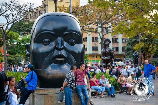 Botero Statue Park Medellin