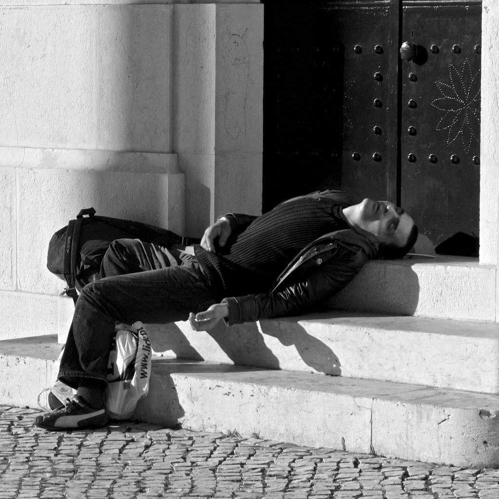 Sleeping moment